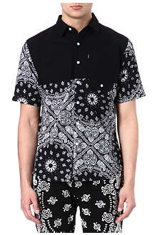 CROOKS AND CASTLES Cotton shirt
