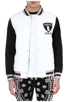 CROOKS AND CASTLES Threats bomber jacket