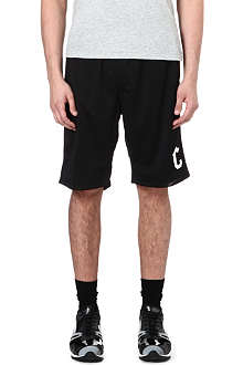 CROOKS AND CASTLES Pointelle shorts