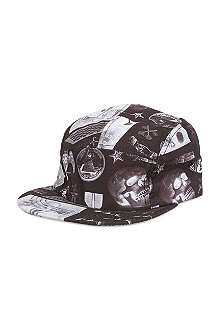 CROOKS AND CASTLES Shriners flatpeak cap