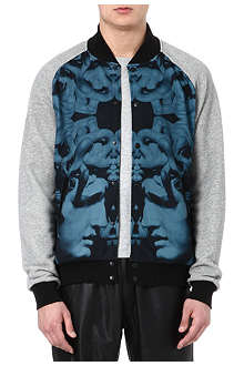 CROOKS AND CASTLES Hellenist bomber jacket