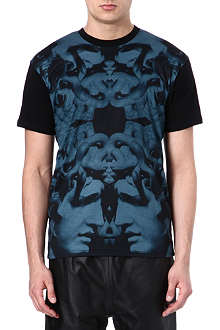 CROOKS AND CASTLES Printed cotton t-shirt