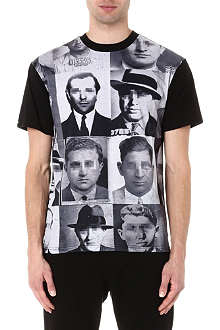 CROOKS AND CASTLES Familia Mafioso print t-shirt
