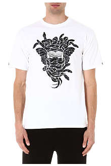 CROOKS AND CASTLES Digi Camo Medusa t-shirt