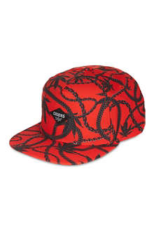 CROOKS AND CASTLES Chainleaf snapback