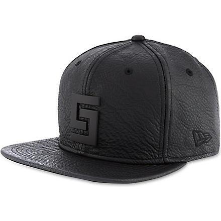 CROOKS AND CASTLES Thuxury Greco logo cap (Black