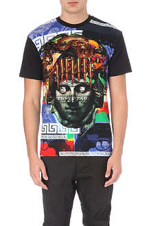 CROOKS AND CASTLES Statue Head Bullet t-shirt