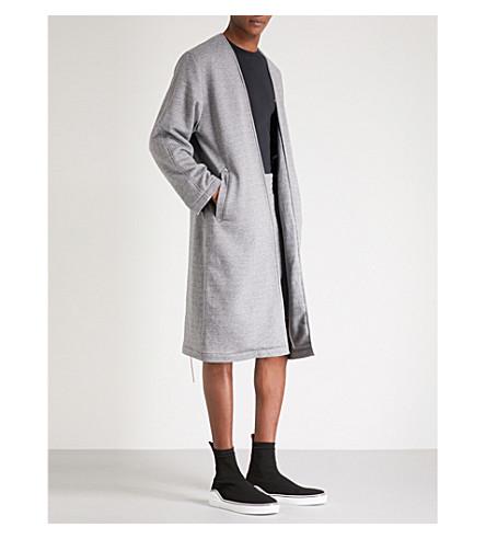 CLOTHSURGEON Lamyland cotton-jersey robe (Grey