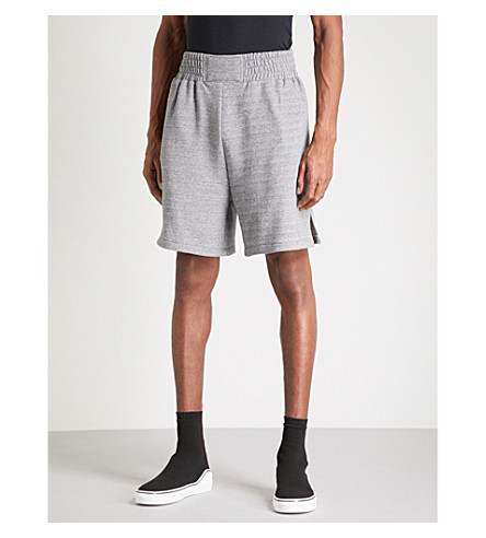 CLOTHSURGEON Lamyland cotton-jersey boxing shorts (Grey