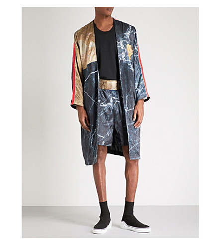 CLOTHSURGEON Lamyland printed robe (Multi
