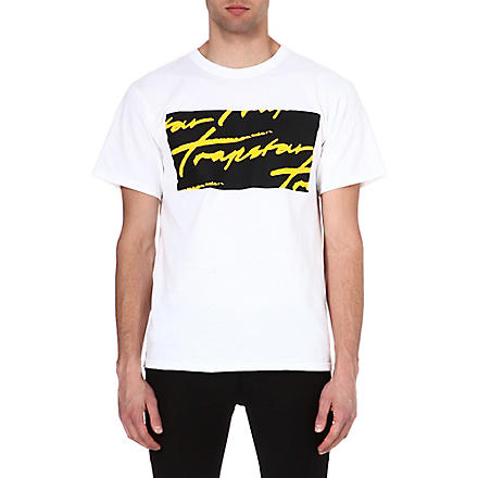 TRAPSTAR All-over signature t-shirt (White