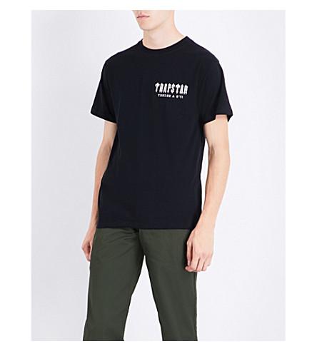 TRAPSTAR Art of War cotton T-shirt (Black
