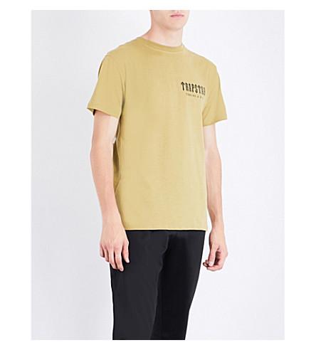 TRAPSTAR Art of War cotton-jersey T-shirt (Olive