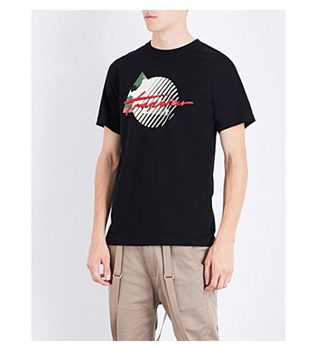 TRAPSTAR Grand Slam cotton T-shirt (Black