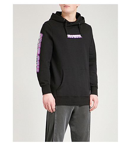 TRAPSTAR Chrome cotton-jersey hoody (Black