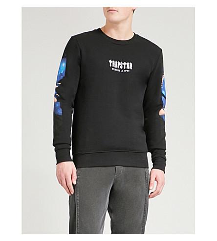 TRAPSTAR 电脑爱棉衫跳线 (黑色