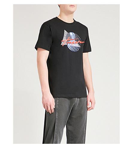 TRAPSTAR Cyber Grand Slam cotton T-shirt (Black