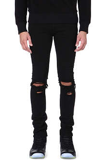 TRAPSTAR Skinny washed-out destroyed jeans