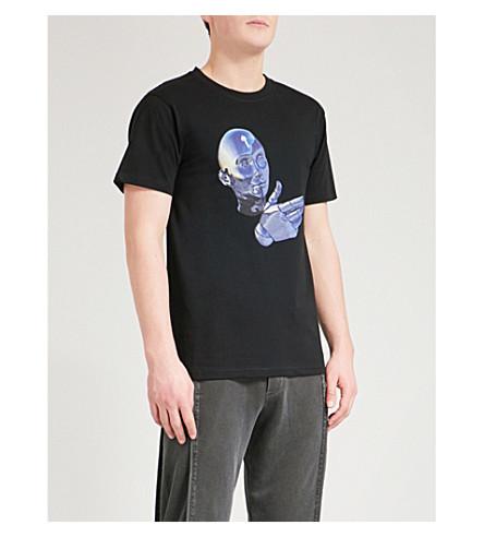 TRAPSTAR I Gang cotton T-shirt (Black