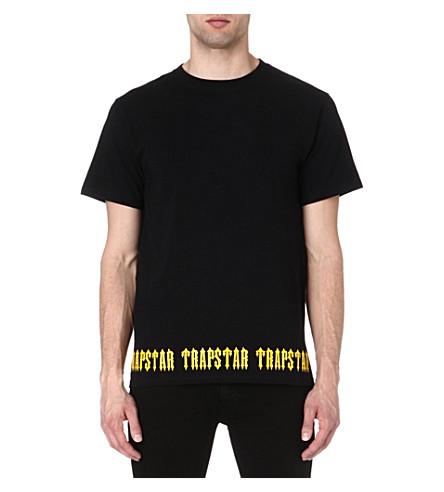 TRAPSTAR Irongate base t-shirt (Black/yellow