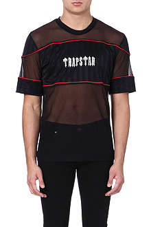 TRAPSTAR Mesh football t-shirt