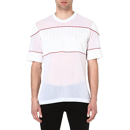 TRAPSTAR Mesh football t-shirt (White