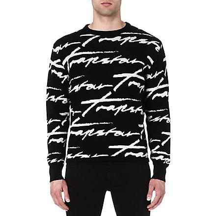TRAPSTAR Signature jumper (Black
