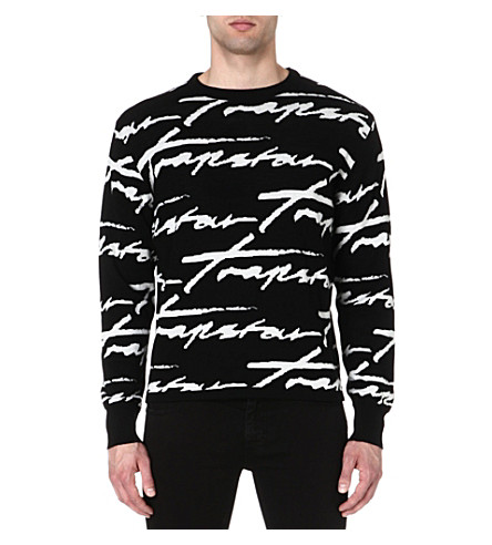 TRAPSTAR Signature jumper (Black