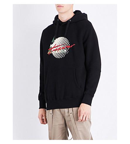 TRAPSTAR Grand Slam cotton-jersey hoody (Black