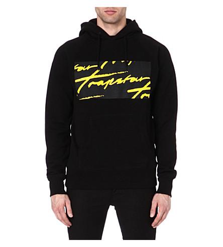 TRAPSTAR Signature logo hoody (Black