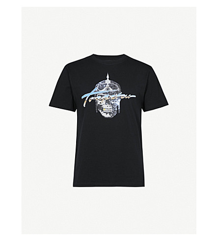 TRAPSTAR Signature Riders cotton T-shirt (Black