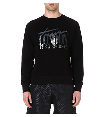 TRAPSTAR It's a secret sweatshirt (Black