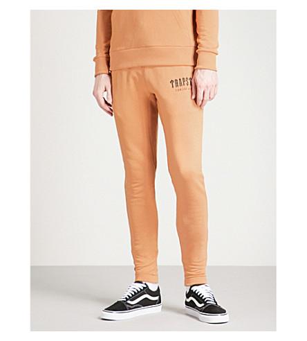 TRAPSTAR Skinny cotton-blend jogging bottoms (Biscuit