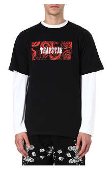 TRAPSTAR Rose box logo t-shirt