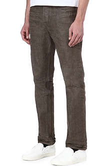 GOLDEN GOOSE DELUXE BRAND Old Heart slim-fit tapered jeans
