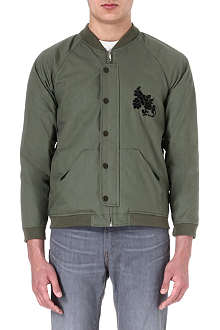 GOLDEN GOOSE DELUXE BRAND Carbon reversible bomber jacket