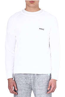 GOLDEN GOOSE DELUXE BRAND HAUS Haus cotton sweatshirt