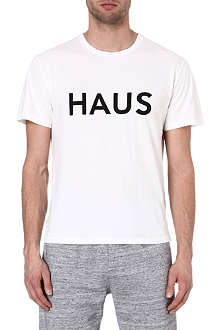 GOLDEN GOOSE DELUXE BRAND HAUS Haus cotton t-shirt
