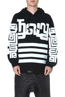 KTZ Symbol sleeve cotton hoody