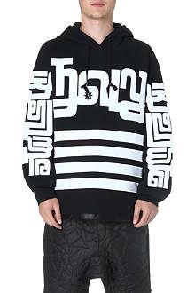KTZ Symbol sleeve cotton hoody
