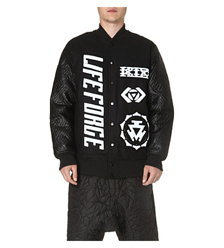 KTZ Life Force bomber jacket (Black/white