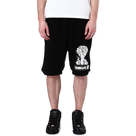 KTZ Net layered shorts (Black