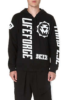 KTZ Life Force printed cotton hoody