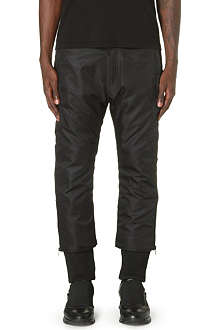 KTZ Satin cuffed trousers