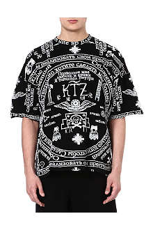 KTZ Church print t-shirt