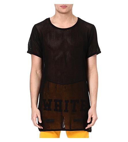 OFF-WHITE C/O VIRGIL ABLOH Mesh t-shirt (Black