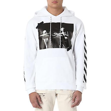 OFF-WHITE C/O VIRGIL ABLOH Caravaggio hoody (White