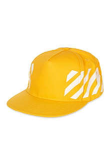 OFF-WHITE C/O VIRGIL ABLOH Striped snapback cap