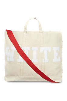 OFF-WHITE C/O VIRGIL ABLOH Canvas striped tote