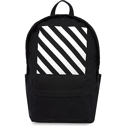 OFF-WHITE C/O VIRGIL ABLOH Canvas backpack (Black
